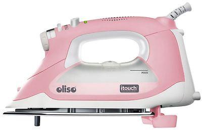 Oliso Smart Steam Iron Press TG1600 Pro 1800W w/ iTouch Technology Pink NEW