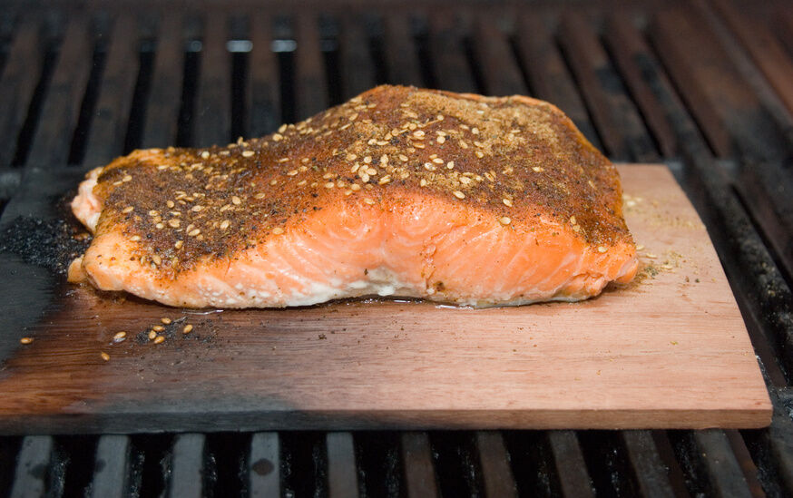 Top 5 cooking grill accessories ebay for Grilling fish on cedar plank