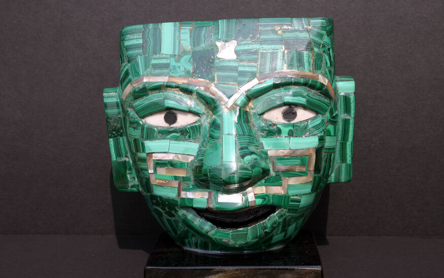 How to make an aztec mask ebay for Aztec mask template