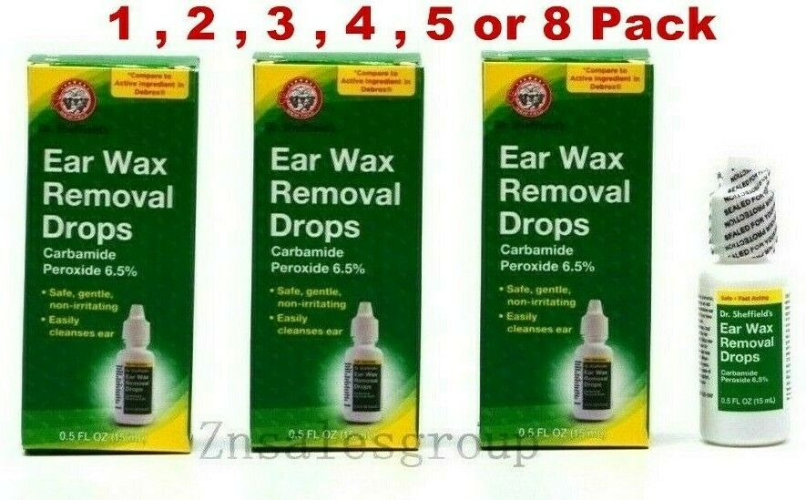Ear Wax Removal Drops Dr Sheffield's 0.5 oz  Made in USA