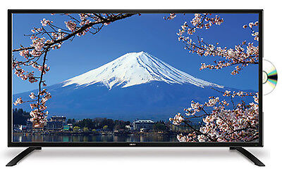 """BRAND NEW AKAI 23.6"""" FULL HD LED TV WITH BUILT-IN DVD PLAYER 2 YEAR WARRANTY"""