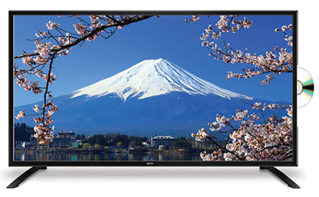 "BRAND NEW AKAI 23.6"" HD LED TV WITH BUILT-IN DVD PLAYER 2 YEAR WARRANTY"