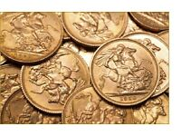 Wanted Full and Half Gold Sovereigns . £205 full £105 half Paid. Plus any other Gold Coins