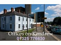 """Darlington Town Centre """"Offices on Kendrew"""" from £49 per week all inclusive, free broadband Internet"""