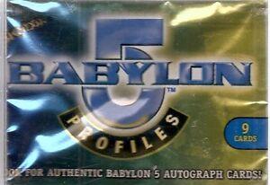 1999 Skybox Babylon 5 Profiles Set (100 cards)
