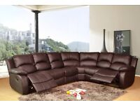 BRAND NEW FAUX LEATHER RECLINER CORNER SOFA SET OR 3+2 SEATER SOFA SET!!!(BEST OFFER)