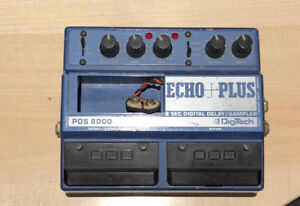 Digitech PDS 8000 Echo Plus Delay Sampler Pédale Pedal.