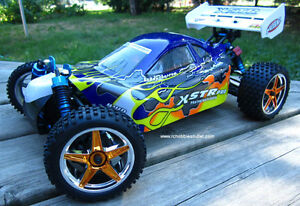 New RC Buggy / Car Brushless Electric1/10 Scale 4WD 2.4G LIPO Sarnia Sarnia Area image 1