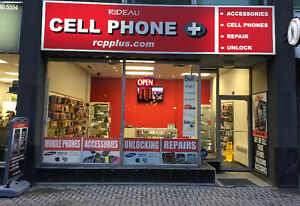 """CELL PHONE STORE:  REPAIRS / UNLOCKING     """"EXPRESS SERVICES""""!!!"""
