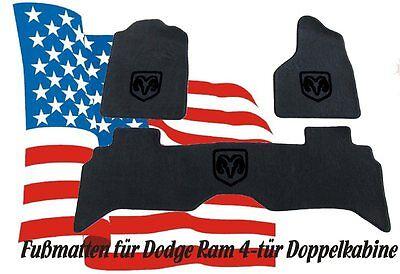 Dodge Ram Fußmatten Teppiche 2002-2009 VELOUR SW