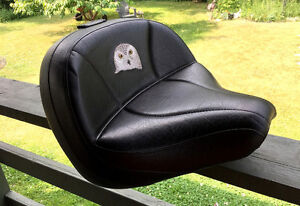 Custom made seat made by Ultimate Seats for 650 Yamaha
