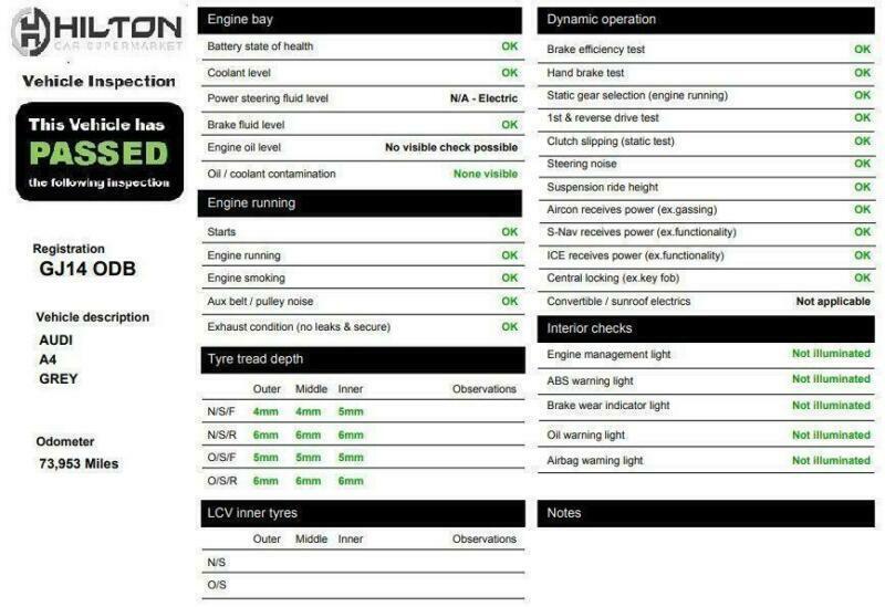 2014 14 AUDI A4 2 0 AVANT TDI S LINE START/STOP 5D AUTO 148 BHP DIESEL | in  Leighton Buzzard, Bedfordshire | Gumtree