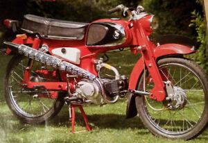 1963 Honda C110 Engine
