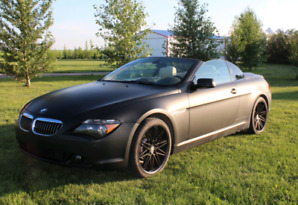 2005 BMW 645i convertible - REDUCED PRICE