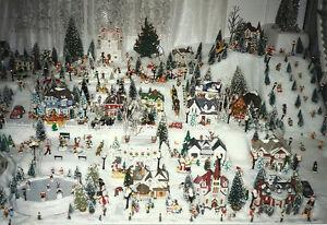 Village entier de Noël / Maisons de Noël