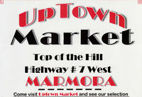 UPTOWN MARKET - MARMORA - OPENING FRIDAY, MAY 8th - -  -