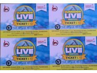 Four tickets to Sunniside Live Half Price!
