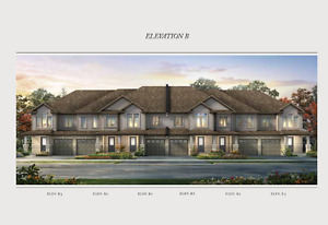 Executive Townhomes in Cambridge from Low $400,000