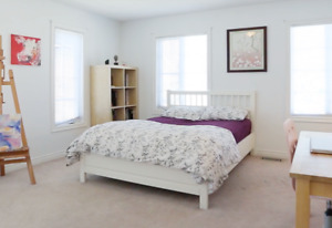 Full Size Ikea Bed Frame and Mattress
