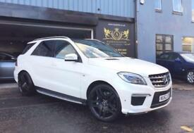 2012 Mercedes-Benz ML63 AMG 5.5 auto AMG- HUGE SPEC- ELECTRIC PAN ROOF-REV CAM