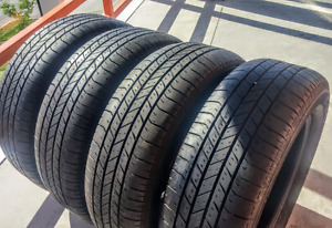 Set of four 225/60/17 Goodyear Integrity all season , 7/32nd