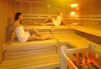 Finland Sauna. Relaxation Treatment.