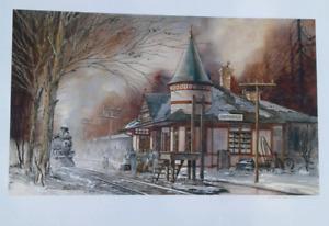 Smithville train  station print