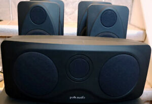 Polk Audio RM6200 Home theater speaker system 4x RM1300 RM1600S