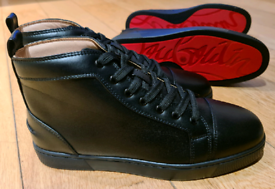 Christian Louboutin high tops full leather black
