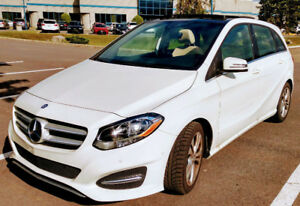 2017 Mercedes B250 4matic 450$/m + end of lease protection