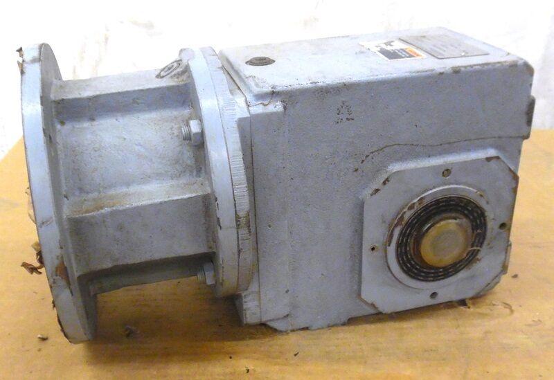 STOBER DRIVE COMTRAC GEAR REDUCER, K302AG0067MR205/180, 1206770, 6.7 RATIO