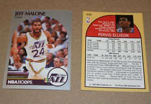 Hoops 1990 NBA basketball cards