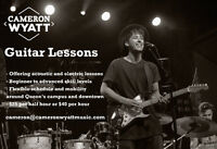 Acoustic/Electric Guitar Lessons