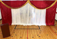 affordable and elegant wedding backdrops and more