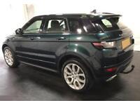 2015 GREEN RANGE ROVER EVOQUE 2.0 TD4 180 HSE DYNAMIC 4WD CAR FINANCE FR £104 PW