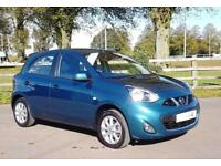 2015 15 Nissan Micra 1.2 Acenta with Air Con & Full Service History