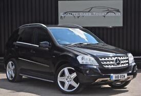 2010 '60' Mercedes ML 350 3.0 V6 CDI BlueF Sport *21 inch AMG Wheels + Black etc