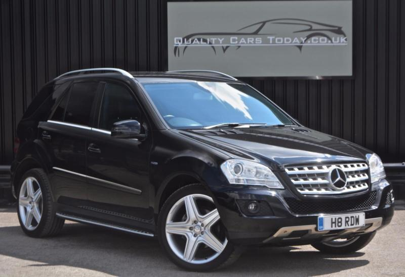 2010  u0026 39 60 u0026 39  mercedes ml 350 3 0 v6 cdi bluef sport  21 inch amg wheels   black etc