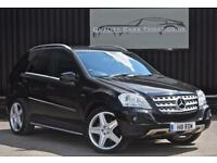 2010 '60' Mercedes ML 350 3.0 V6 CDI BlueF Sport *21 inch AMG Wheels + Black etc