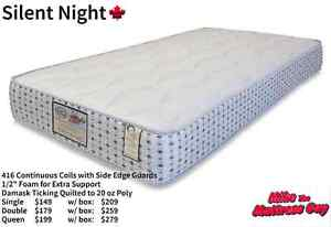 COME TO MIKE'S FOR AWESOME COIL MATTRESSES STARTING AT $99!