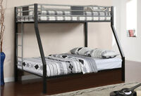 LORD SELKIRK FURNITURE -MERCURY TWIN/DOUBLE METAL BUNK BED FRAME