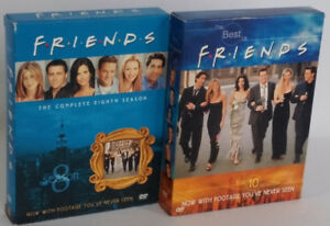 Friends DVD Set Season 8 and 10 Best Friends Episode Compelation