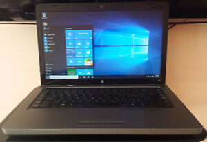 Golden color HP in mint condition and fast laptop