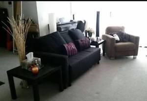Living room set-Sofa,lounge,arm chair,FREE coffee table & cushion Wolli Creek Rockdale Area Preview