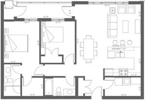 Luxury Leamington Apartment Sublet - 1 Room