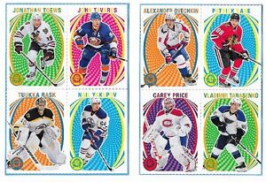 2013/14 and 2014/15 O-Pee-Chee Hockey Box Bottoms Four Different
