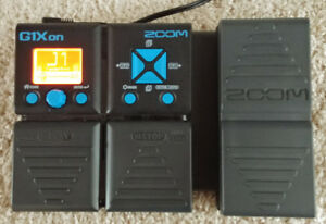 For Sale: Zoom G1Xon Guitar Multi-effects Pedal