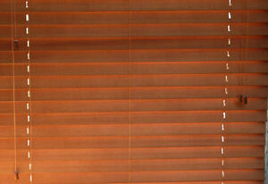 Brand new two faux wood blinds for the windows Regina Regina Area image 2