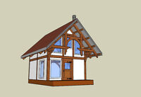 Timber frame cabin packages