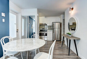 4 1/2 Fully Furnished and Renovated in Griffintown/Downtown